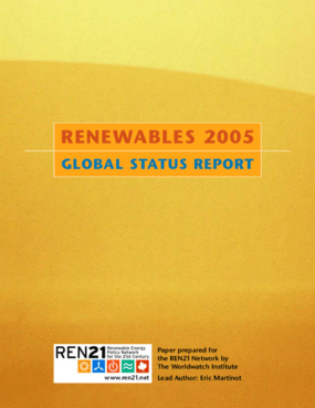 Renewables 2005: Global Status Report