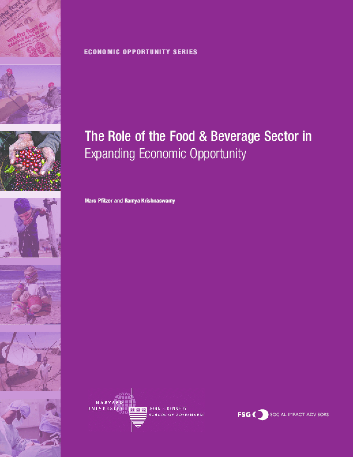 The Role of the Food & Beverage Sector in Expanding Economic Opportunity