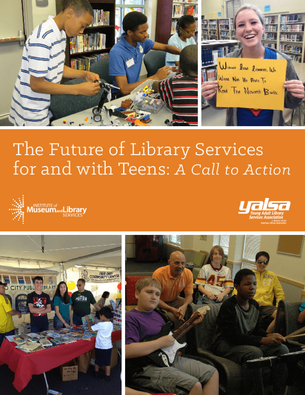 The Future of Library Services for & with Teens: A Call to Action