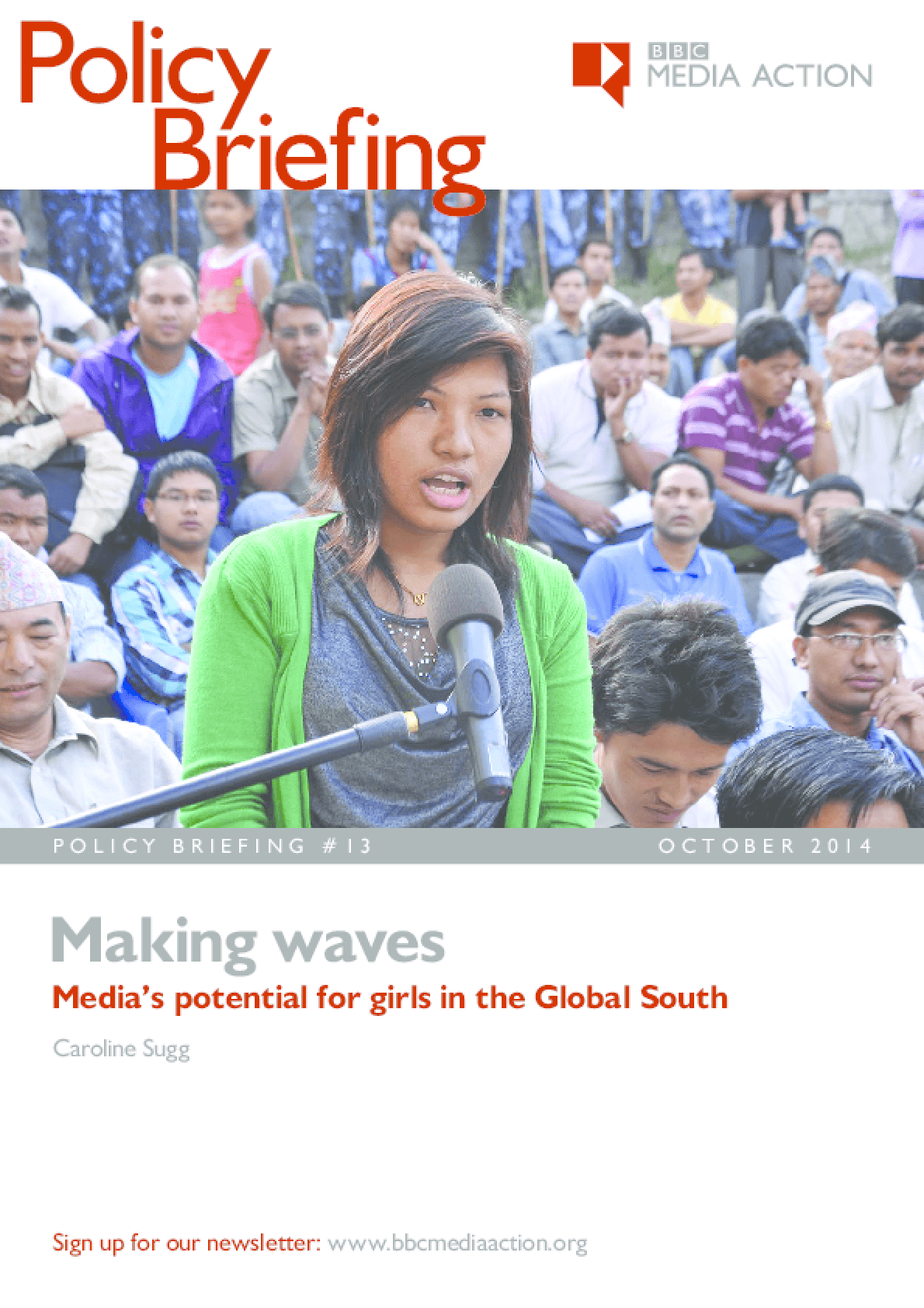 Making Waves: Media's Potential for Girls in the Global South