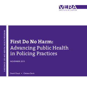First Do No Harm: Advancing Public Health In Policing Practices