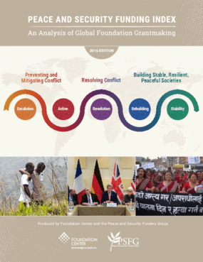 Peace and Security Funding Index: An Analysis of Global Foundation Grantmaking
