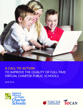 A Call to Action to Improve the Quality of Full-Time Virtual Charter Public Schools