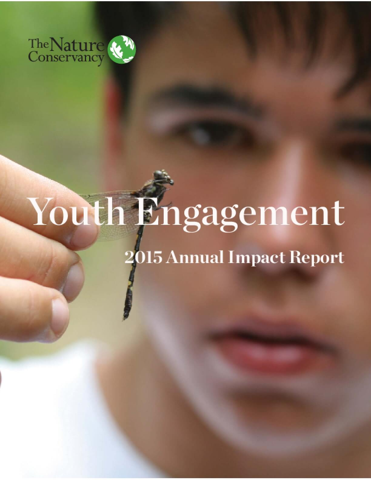 Youth Engagement 2015 Annual Impact Report