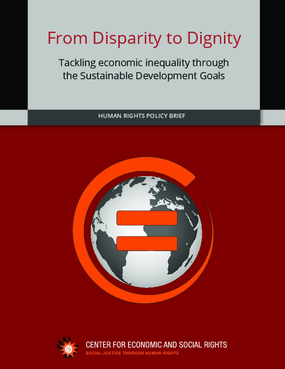 From Disparity to Dignity: Tackling Economic Inequality through The Sustainable Development Goals