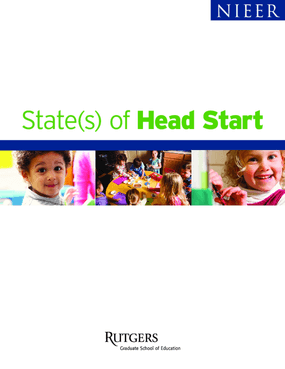 State(s) of Head Start