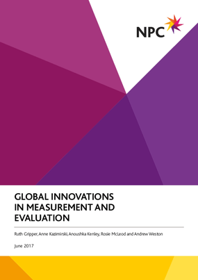 Global Innovations in Measurement and Evaluation