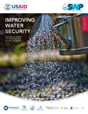 "Improving Water Security: A Process to Address ""Too Little, Too Much, Too Dirty, Too Erratic"""