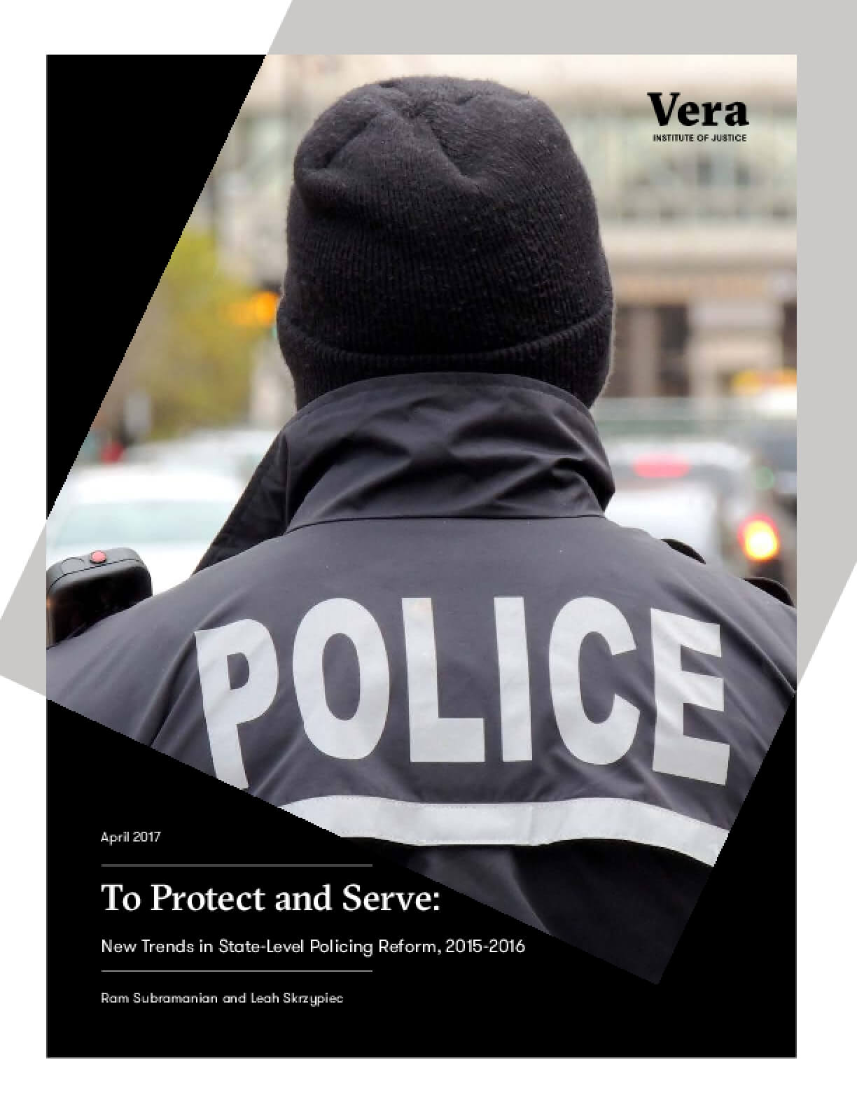 To Protect and Serve: New Trends in State-Level Policing Reform, 2015-2016