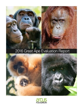 2016 Great Apes Evaluation Report