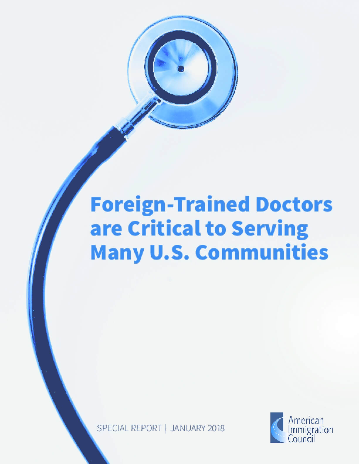 Foreign-Trained Doctors are Critical to Serving Many U.S. Communities