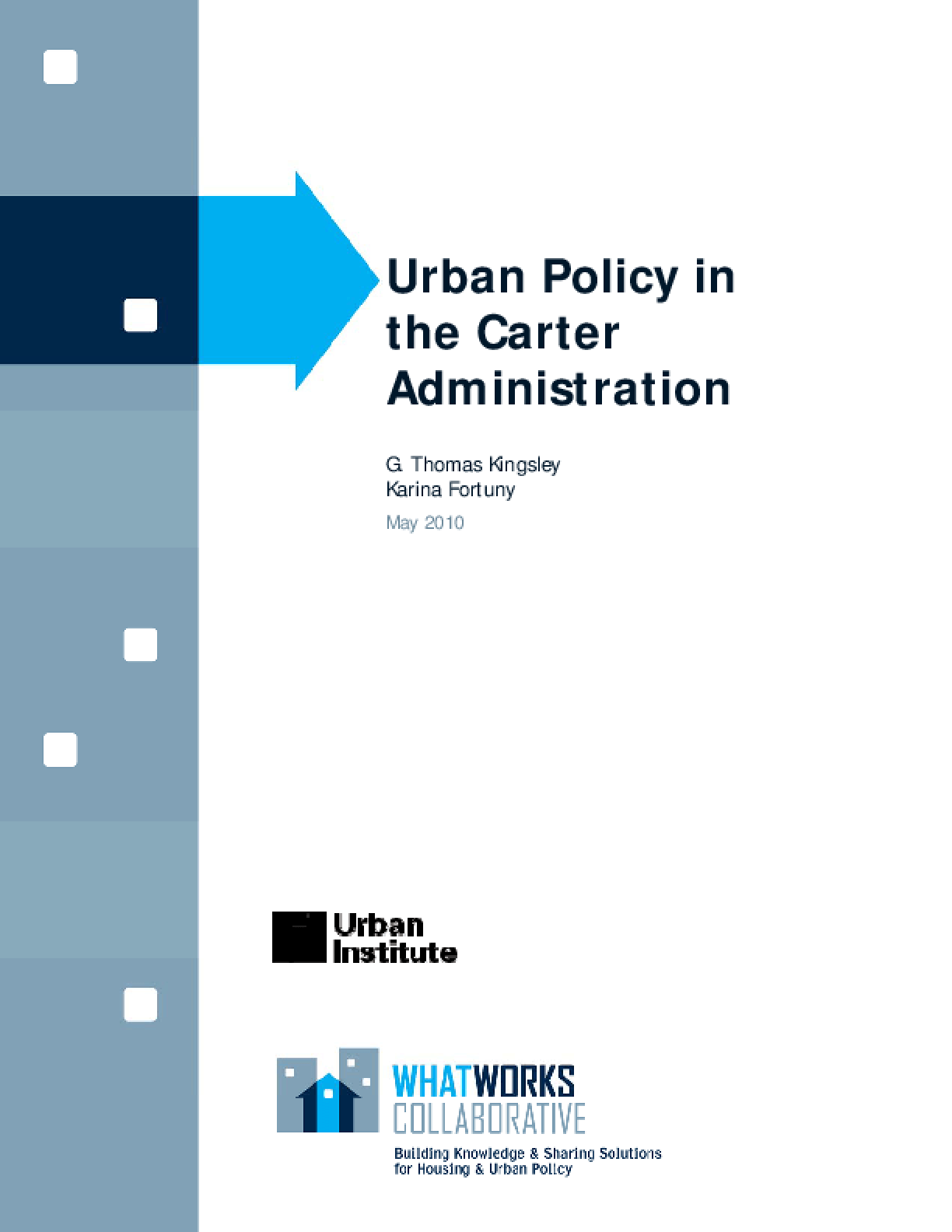 Urban Policy in the Carter Administration