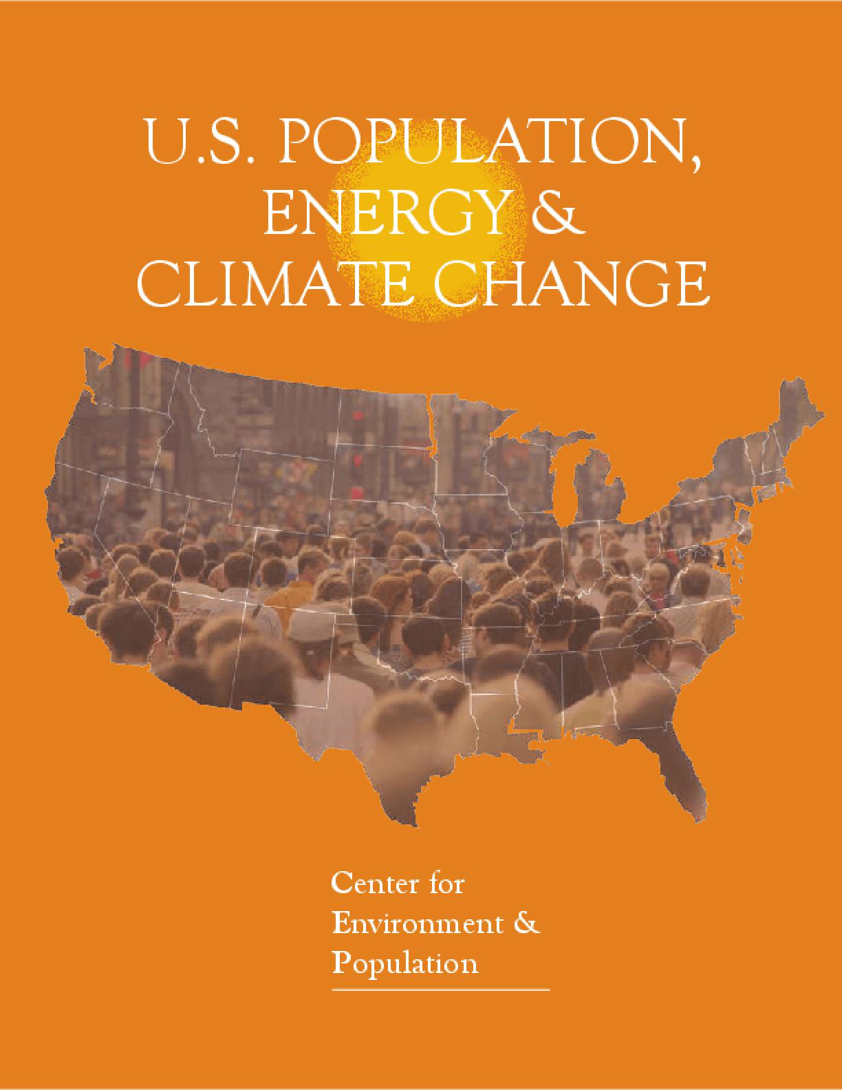 U.S. Population, Energy & Climate Change