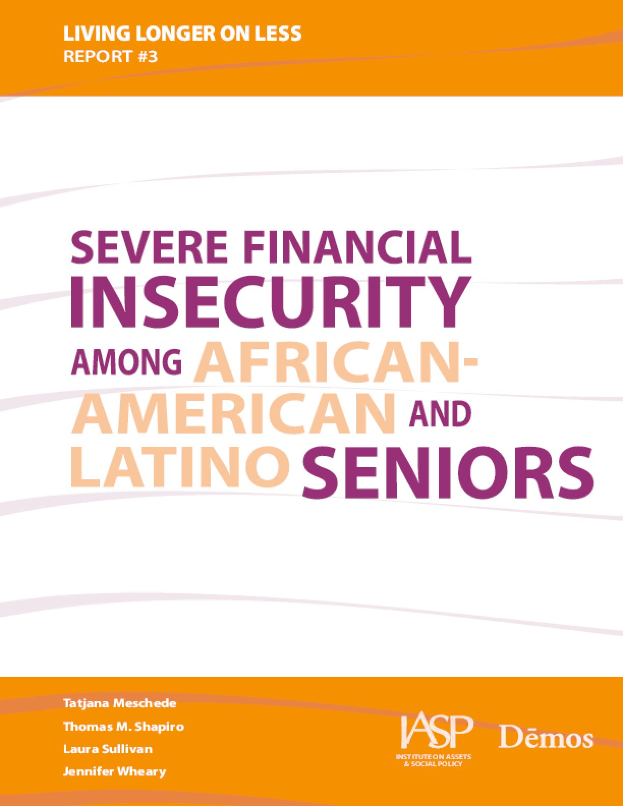 Severe Financial Insecurity Among African-American and Latino Seniors