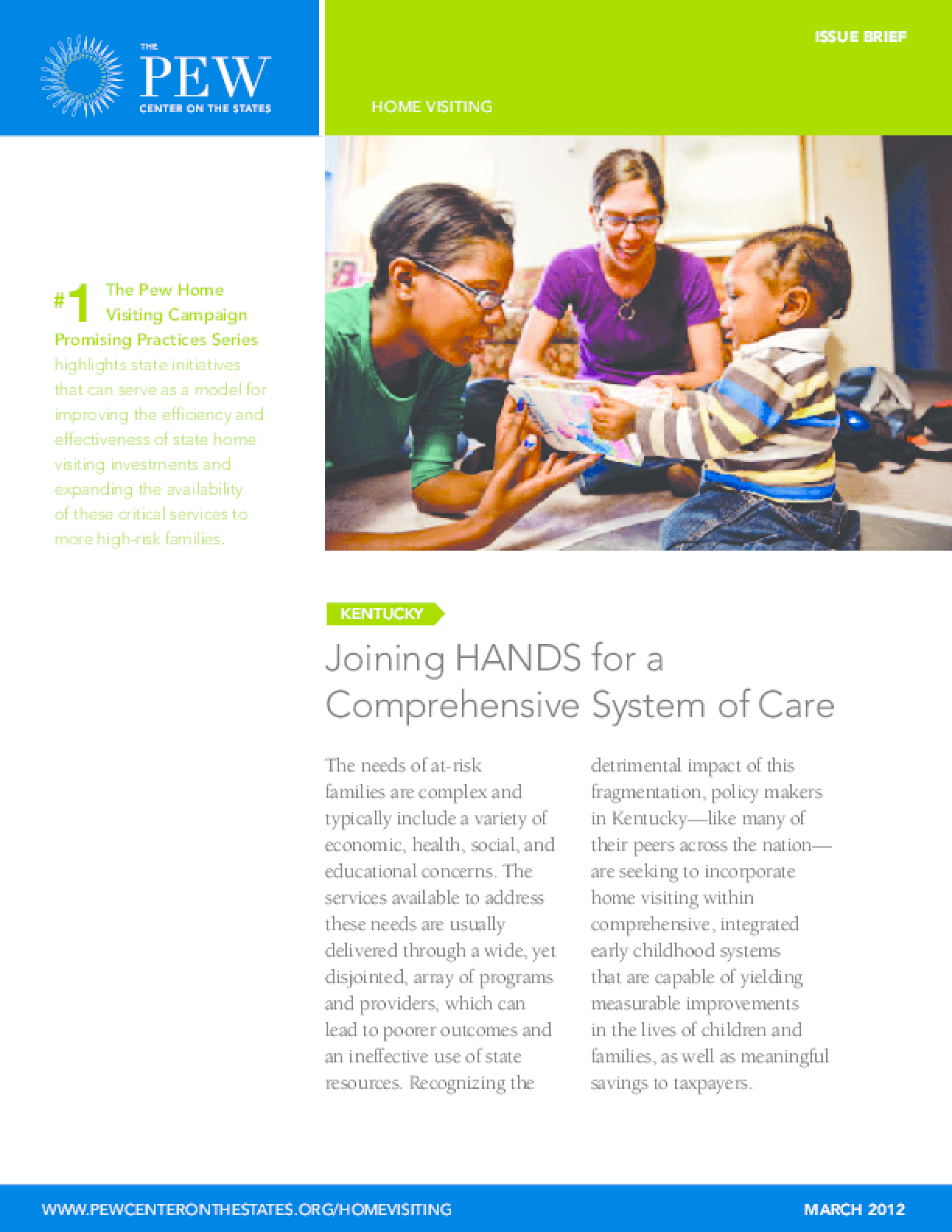 Joining HANDS for a Comprehensive System of Care
