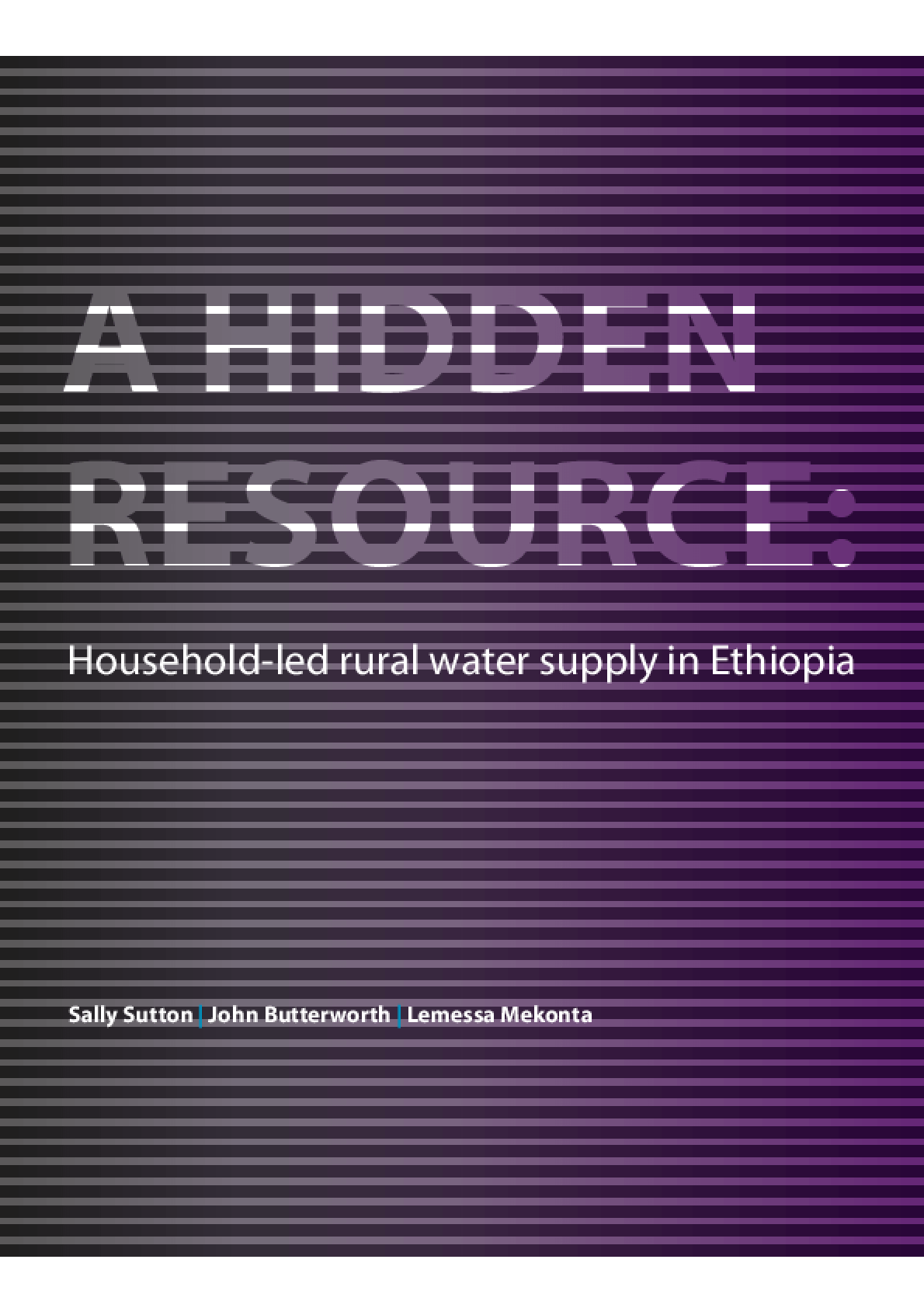A Hidden Resource: Household-led Rural Water Supply in Ethiopia