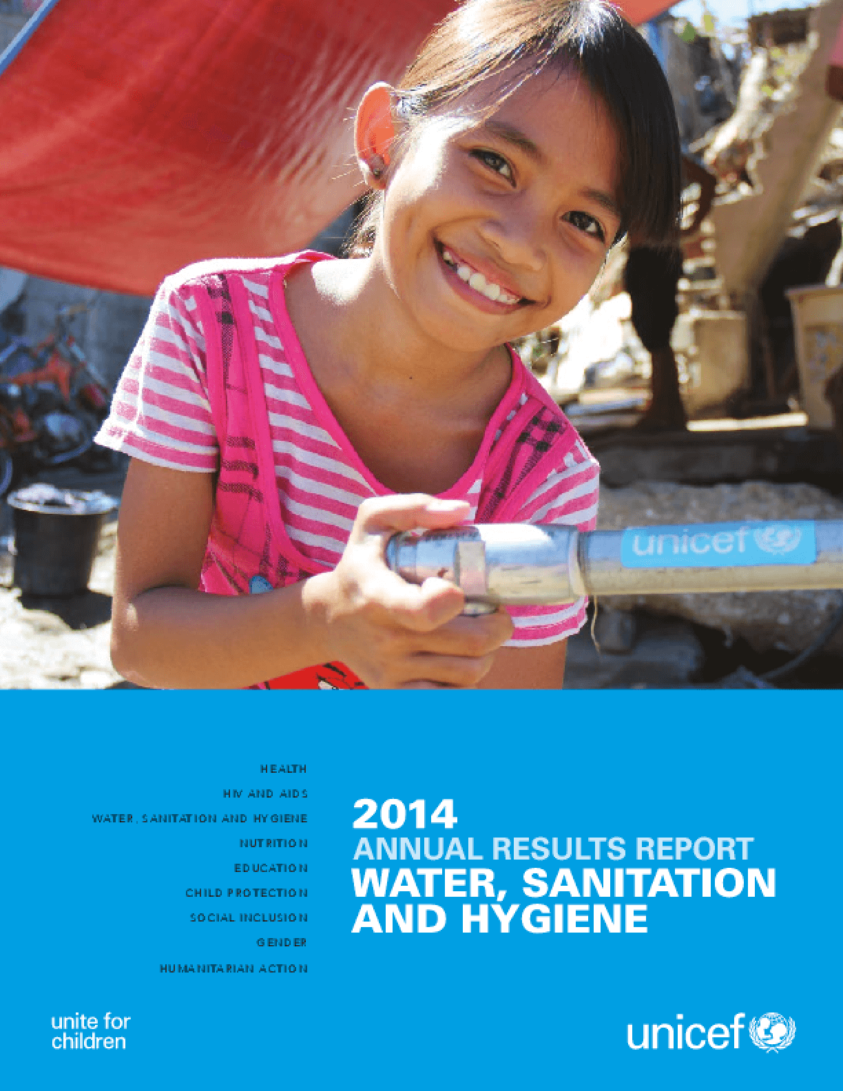 Annual Results Report 2014: Water, Sanitation, and Hygiene