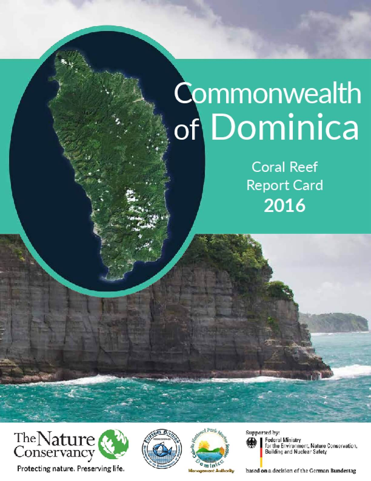 Commonwealth of Dominica: Coral Reef Report Card 2016