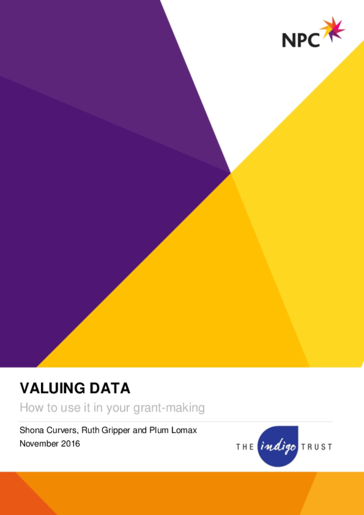 Valuing Data: How to Use It in Your Grant-Making
