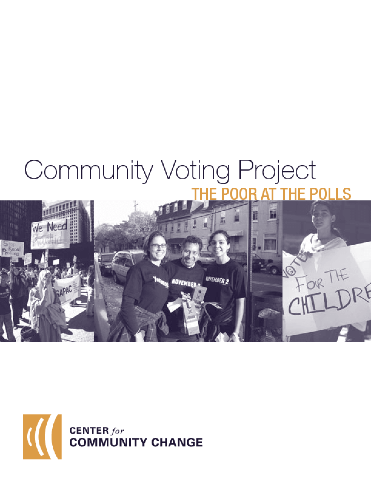 The Community Voting Project: The Poor at the Polls