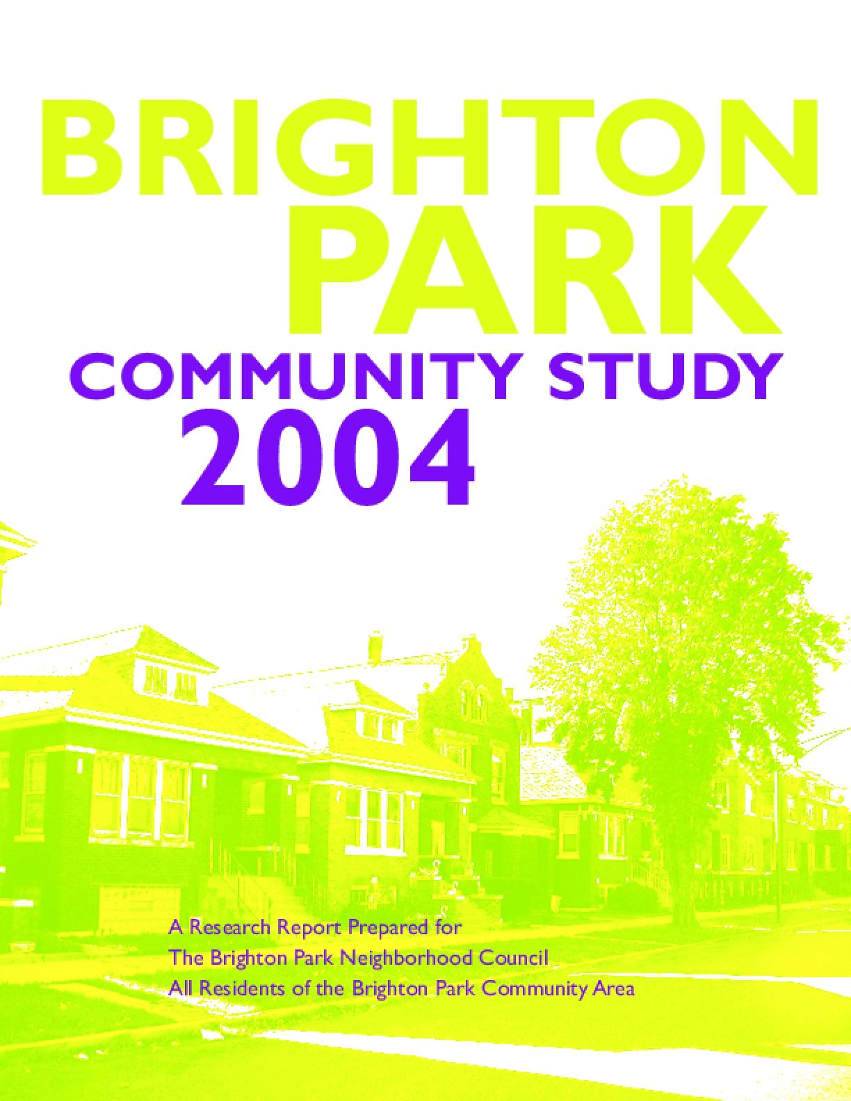 Brighton Park Community Study 2004