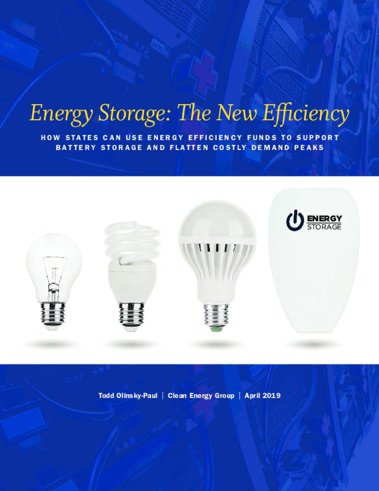 Energy Storage: The New Efficiency
