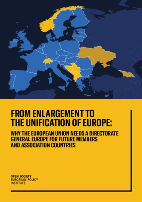 From Enlargement to the Unification of Europe