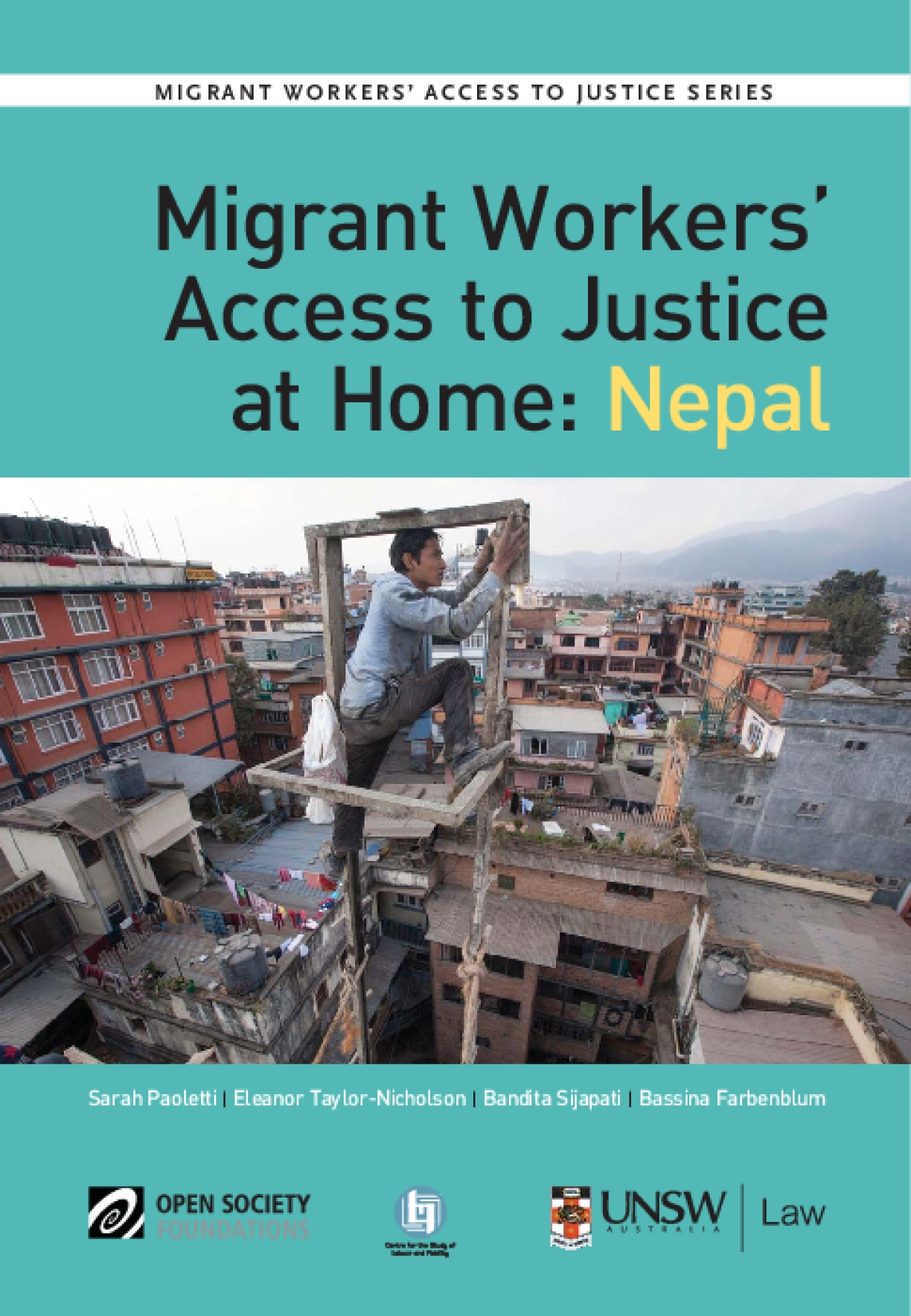 Migrant Workers' Access to Justice at Home: Nepal
