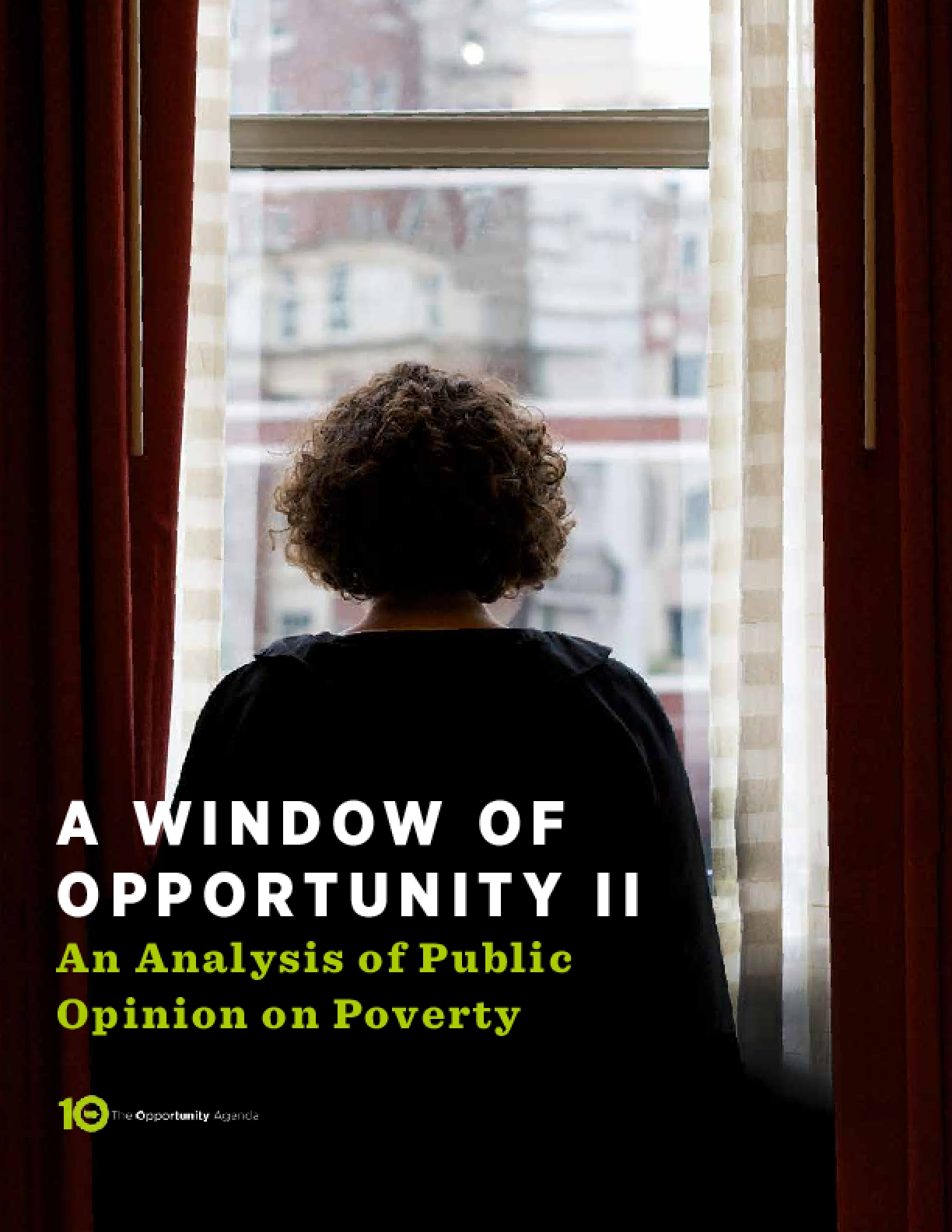 A Window Of Opportunity II: An Analysis of Public Opinion on Poverty