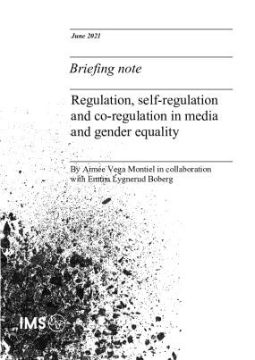 Regulation, self-regulation and co-regulation in media and gender equality