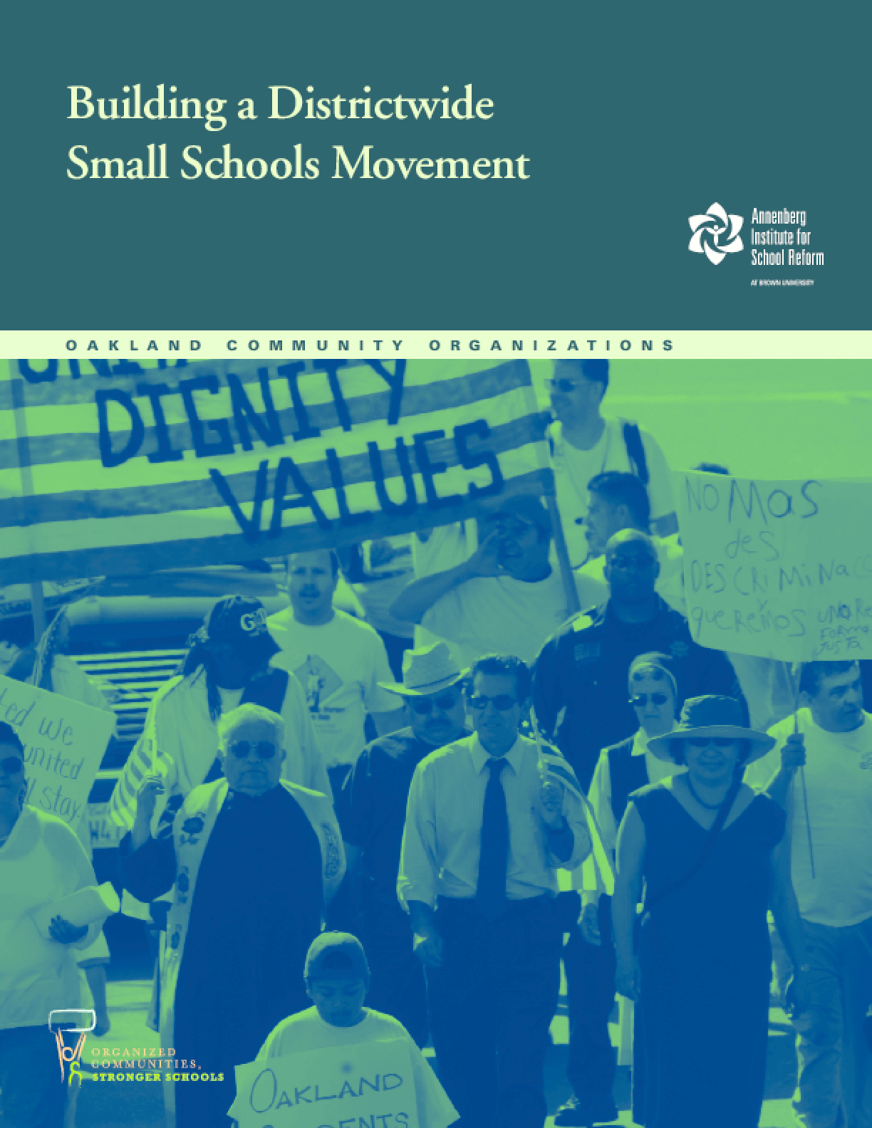 Building a Districtwide Small Schools Movement